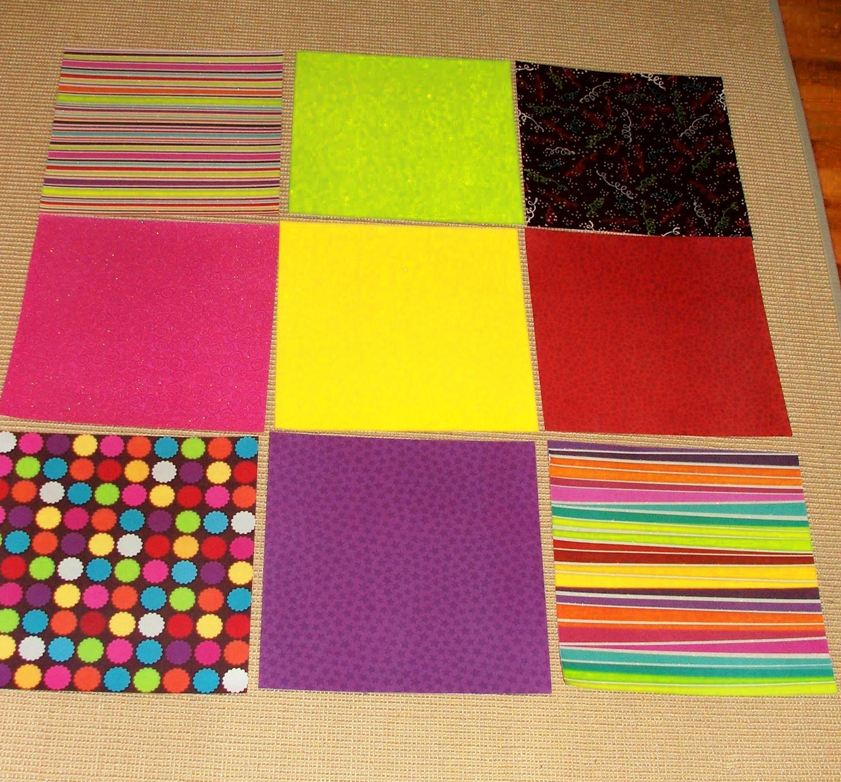 How to make scrapbook paper designs - 3