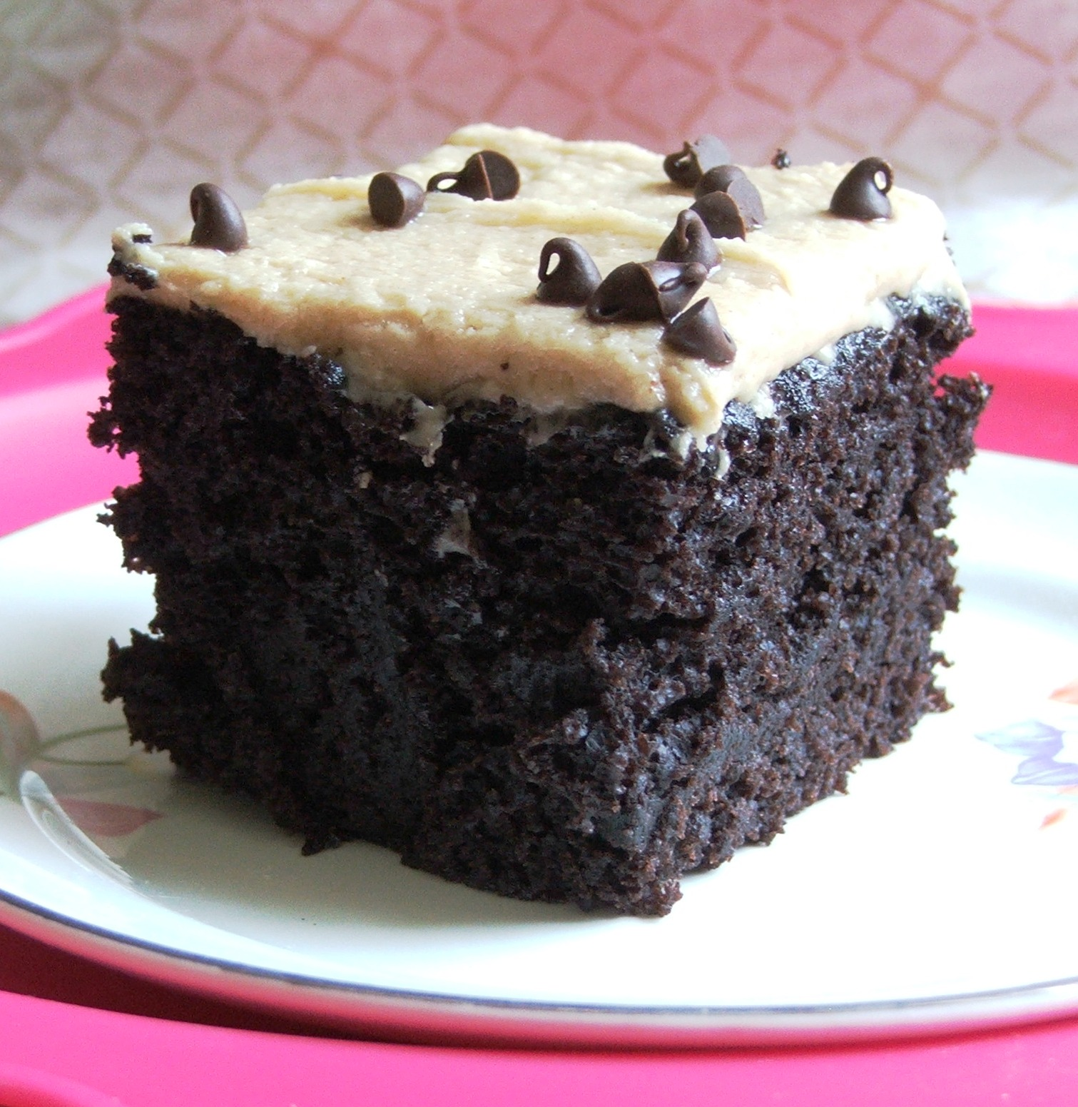 Wacky Cake With Peanut Butter Frosting Detroitmommies