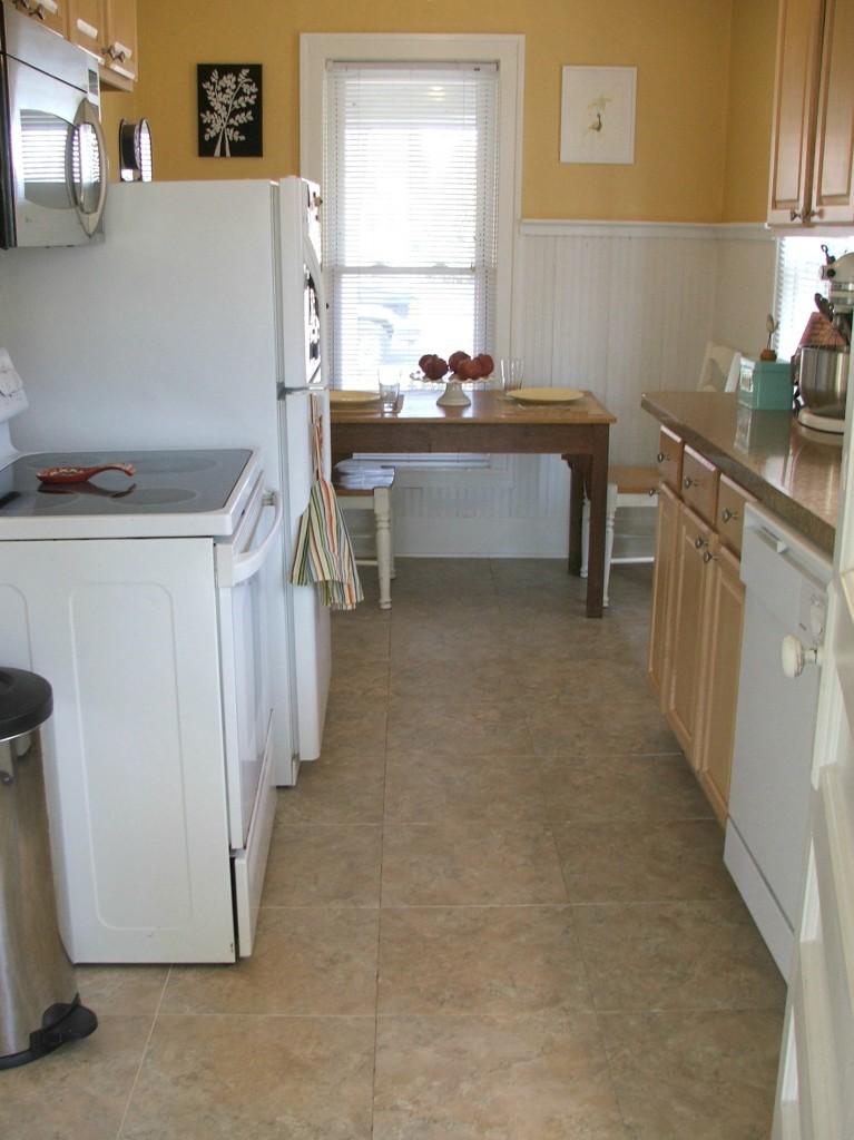 Kitchen Floor Make Over Mission Complete Detroit