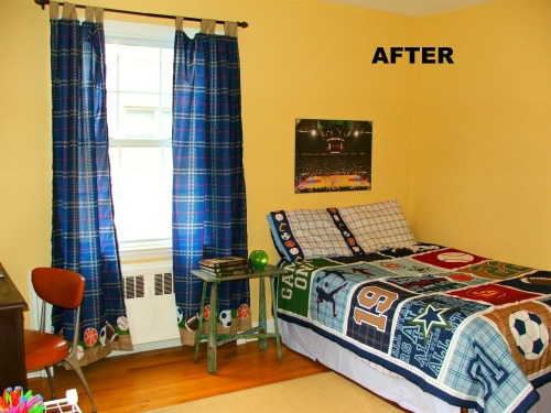Re decorating my son s bedroom finally detroit for Bedroom nothing lasts