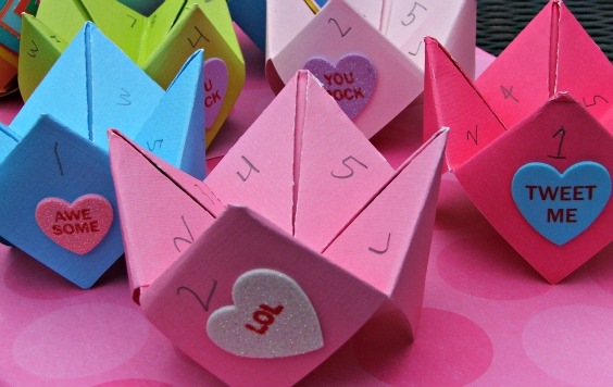 valentine s day cootie catcher cards tutorial detroit