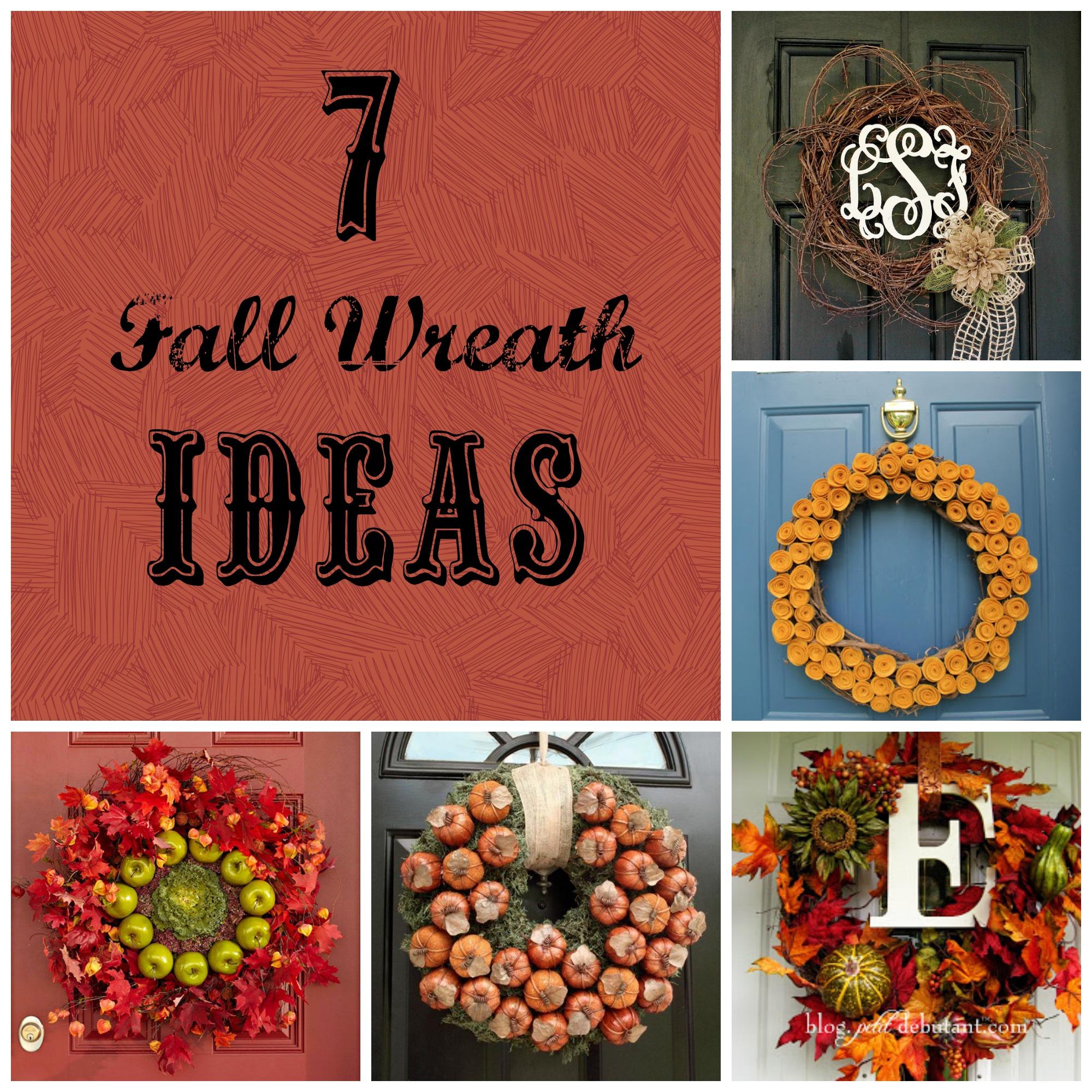 7 DIY Fall Wreath Ideas Detroit Mommies