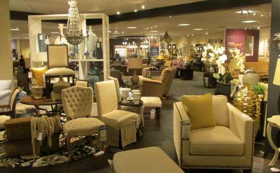 Inside Furniture Store