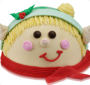 Baskin Robbins Elf Ice Cream Cake