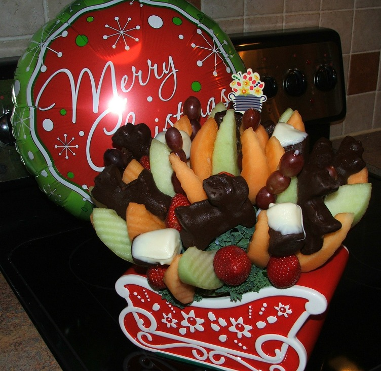 Christmas Edible Arrangements