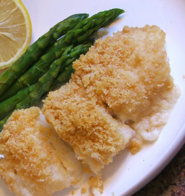 Yummy Puttin' on the Ritz Fish Dish - 4 Ingredients!