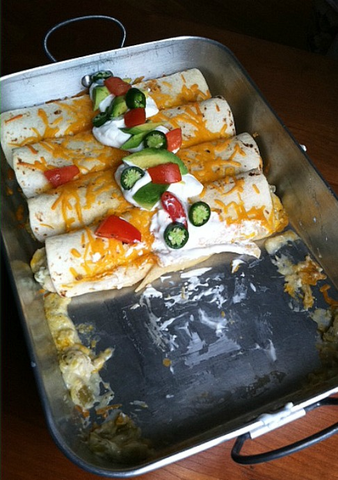 #Labels4Edu Chicken-Enchiladas