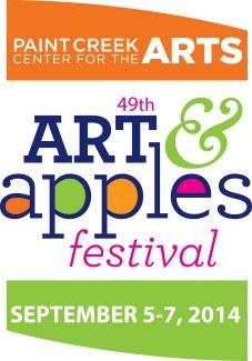 2014 Art  Apples Festival logo