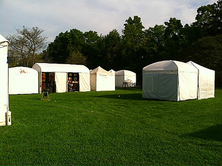 Art and Apples 2014 Tents