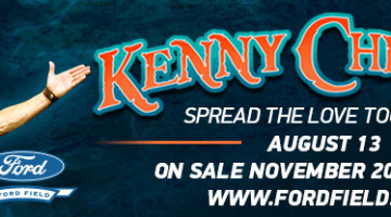 Kenny Chesney Tickets On SALE – FRIDAY November 20, 2015 ~ 10:00am!!!