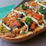 #ad  Chicken Taco French Bread Pizza