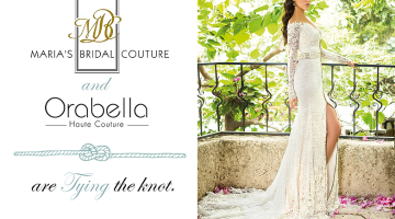 Maria's Bridal for Orabella: Wedding Gowns To Feel Like a Princess