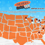 Palmer's Street Team is in Detroit Giving Free Cocoa Butter Samples!